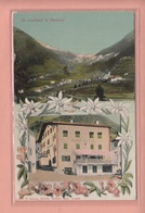 OLD POSTCARD - ITALY - ST. LEONHARD IN PASSEIER - GASTHOF  ZUM THEIS - - Bolzano