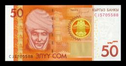 Kirguistan Kyrgyzstan 50 Som 2016 Pick 25b SC UNC - Kirguistán
