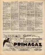ANNUAIRE - 03 - Département Allier - Année 1936 - édition Didot-Bottin - 72 Pages - Telephone Directories