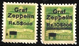 501 - BRASIL - 1930 - AIR MAIL - ZEPPELIN OVERPRINT - FORGERIES, FALSES, FAKES, FAUX, FALSOS, FALSCHEN - Briefmarken