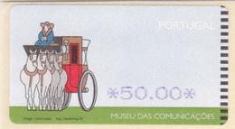 Portugal -6 Etiquetas Novas -museu Das Comunicaçoes - Portugal