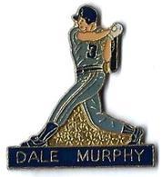 BASEBALL - B6 - DALE MURPHY - Verso : SM - Baseball