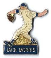 BASEBALL - B7 - JACK MORRIS - Verso : SM - Baseball