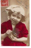 L100F099 - Joli Portrait De Garçonnet Avec Une Pipe Et Des Allumettes!  - NPG  N°529/3 - Portraits