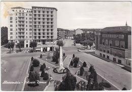 ALESSANDRIA - PALAZZO DOMUS - VIAGG. 1961 -15941- - Alessandria