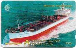Ascension Island - C&W - GPT - 268CASB - Maersk Ascension, 1998, 5.000ex, Used - Ascension