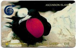 Ascension Island - C&W - GPT - 2CASC - Ascension Frigate Bird, 1991, 1.831ex, Used - Ascension (Insel)