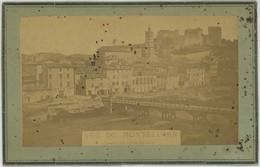 CDV Circa 1870. Vue De Montélimar Prise Du Côté Du Fust. Drôme. Rare. - Photographs