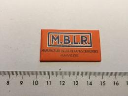 20E - M.B.L.R. Manufacture Belge De Lames De Rasoirs Anvers Extra Mince - Scheermesjes