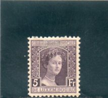 LUXEMBOURG 1914-20 * - 1914-24 Marie-Adélaïde