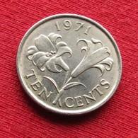 Bermuda 10 Cents 1971 KM# 17  Bermudes Bermudas - Bermuda