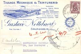 Tissage Mécanique & Teinturerie Gustave Nottebaert - Zwevegem - Zwevegem