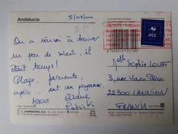 Vignette Pré Payée IFCC Cachet Rouge Roissy CDG - 1991-00 Lettres