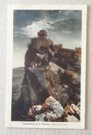 Cartolina Illustrata Repubblica Di San Marino Per Rimini - 28/01/1932 - Saint-Marin