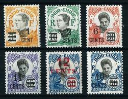 Indochina (Francesa) Nº 117/22 Nuevo*/(*) - Unused Stamps