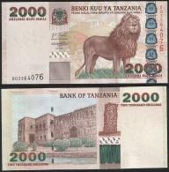 Tanzania P 37 - 2000 2.000 Shilingi Shillings 2003 - UNC - Tanzanie