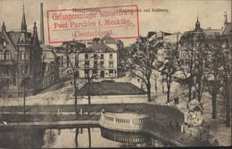 Guerre 14 Prisonnier Français Allemagne Texte Gaz + Gefangenenlager Wittorferfeld Post Parchim I Mecklbg CP Neumünster - Marcophilie (Lettres)