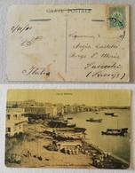 Cartolina Illustrata Porto Di Tripoli Per Fucecchio (FI, Ita) - Libyen