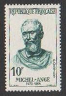 France Neuf 1973  Célébrité Peinture Peintre Sculpture  Michel-Ange YT 1782 - Ungebraucht