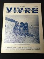 Année 30 Revue Naturisme Naturiste Nudisme FKK  VIVRE SANTE JOIE BEAUTE - 1900 - 1949