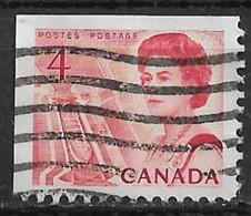 Canada 1967. Scott #457a (U) Ship In Lock (Central Canada) - Single Stamps