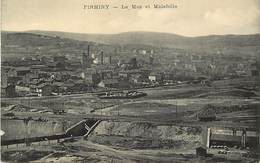 - Loire -ref-B116- Firminy - Le Mas Et La Folie - Ligne De Chemin De Fer - Mine - Mines - Aciéries - Industrie - - Firminy