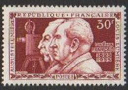France Neuf 1955 Célébrité Cinéma Frères Lumière YT 1033 - Frankreich