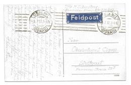 Württemberg Feldpost Karte Ulm 1917 Blauer Zettel - Wurtemberg