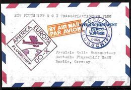 108 - GERMANY - 1932 - AIR MAIL - DORNIER FLIGHT - COVER - FORGERY, FALSE, FAKE, FAUX, FALSO, FALSCH - Briefmarken