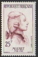 France Neuf 1957 Célébrité Musique Musicien Mozart  YT 1137 - Frankreich