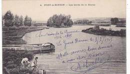 51 LE GRAND HAMEAU (ENVOYÉ DU) . PORT A BINSON. LES BORDS DE LA MARNE. LAVANDIERES.+ TEXTE MILITARIA DU 3/7/1915 - Guerre 1914-18