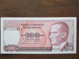 TURQUIE 100 LIRASI 14/10/1970 UNC - Turquia