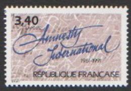 France Neuf Sans Charnière 1991 Amnesty International Association YT 2728 - Francia