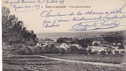 51 LE GRAND HAMEAU (ENVOYÉ DU) PORT A BINSON..VUE PANORAMIQUE.+ TEXTE MILITARIA DU 1er JUILLET 1915 - Guerre 1914-18