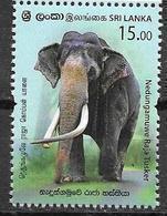 SRI LANKA, 2019, MNH,FAUNA, ELEPHANTS,1v - Elephants