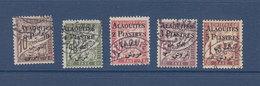 ALAOUITES TAXE 1/5  OBLITERES - Alaouites (1923-1930)