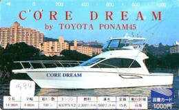Télécarte JAPON *  TOYOTA *  (1594)  Phonecard JAPAN * VOITURE * Auto CAR * TELEFONKARTE - Cars