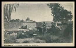 ALFANDEGA DA FÉ - LAVADEIRAS - Chafariz E Tanque Das Lavadeiras.( Fot. José Joaquim Do Rego- Agosto 1923) Carte Postale - Bragança