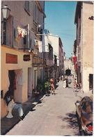 SAINT TROPEZ - FRANCIA - FRANCE - LA RUE DES REMPARTS - VIAGG. 1977 -4564- - Mundo