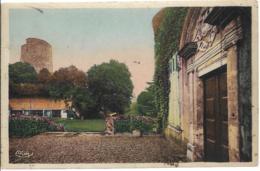 D37 - CHATEAU-RENAULT EN TOURAINE - LA TOUR DE CARAMENT (XIIe S.) - VUE DU CHÂTEAU - Carte Colorisée - France
