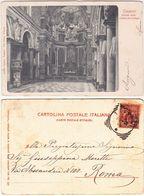 TRAPANI - INTERNO DELLA CHIESA DEL COLLEGIO - VIAGG. 1901 -13858- - Trapani