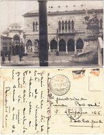 UDINE - LOGGIA MUNICIPALE ESTATUA DELLA PACE - VIAGG. 1924 -5033- - Udine