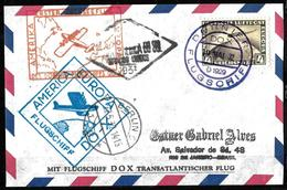 109 - GERMANY - 1932 - AIR MAIL - DORNIER FLIGHT - COVER - FORGERY, FALSE, FAKE, FAUX, FALSO, FALSCH - Briefmarken