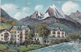 372817Berchtesgaden, Hotel Schwabenwirt (gestempelt 1923) - Berchtesgaden