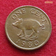 Bermuda 1 Cent 1980 KM# 15 Lt 609 *V1  Bermudes Bermudas - Bermuda