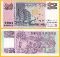 Singapore 2 Dollars P-34 1997 UNC - Singapore