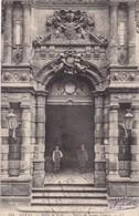 62.LOUEZ LEZ DUISANS (ENVOYÉ DE). ARRAS HOTEL DE VILLE.PORTE DE LA RUE VINOCQ. + TEXTE MILITARIA DU 27/11/1914 (suite) - Guerre 1914-18