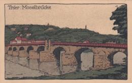 3728220Trier, Moselbrücke (sehr Kleines Falte Im Ecken) - Trier