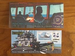 Souvenir Philatélique LE PLUS BEAU TIMBRE 2009 PORTE HELICOPTERES JEANNE D'ARC Y&T BS 55 - 2010 - Neuf - Blocs Souvenir