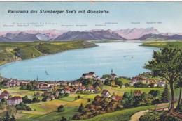 3728237Panorama Des Starnberger See's Mit Alpenkette - Starnberg